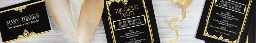 Themed Birthday Party Invitations