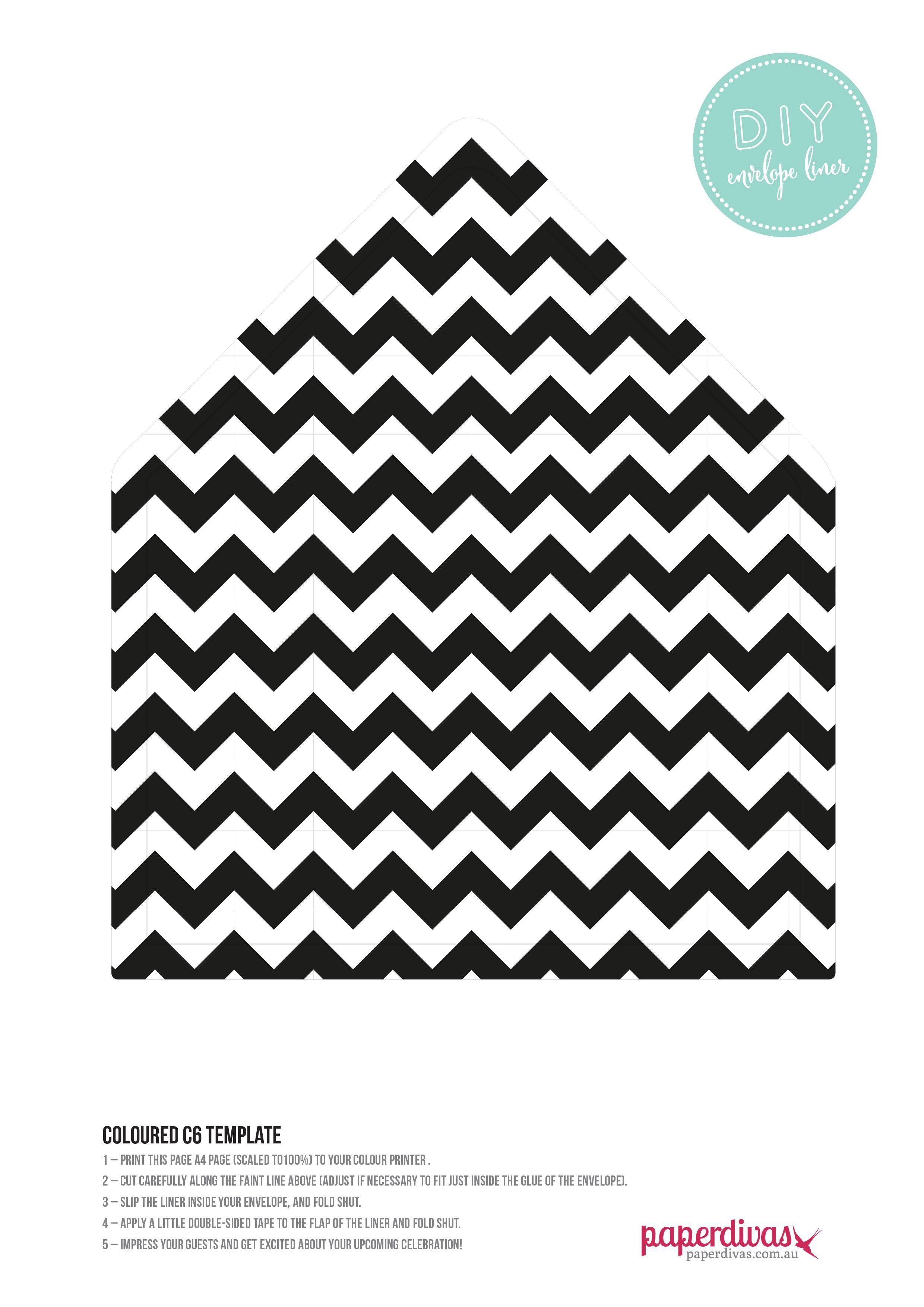 paperdivas blog free diy envelope liner templates. Black Bedroom Furniture Sets. Home Design Ideas