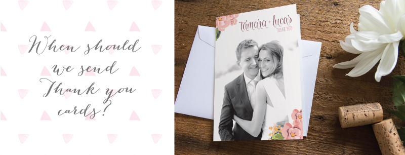 Thank You Wedding Gift Etiquette : PaperDivas BlogWedding Thank You Card Etiquette
