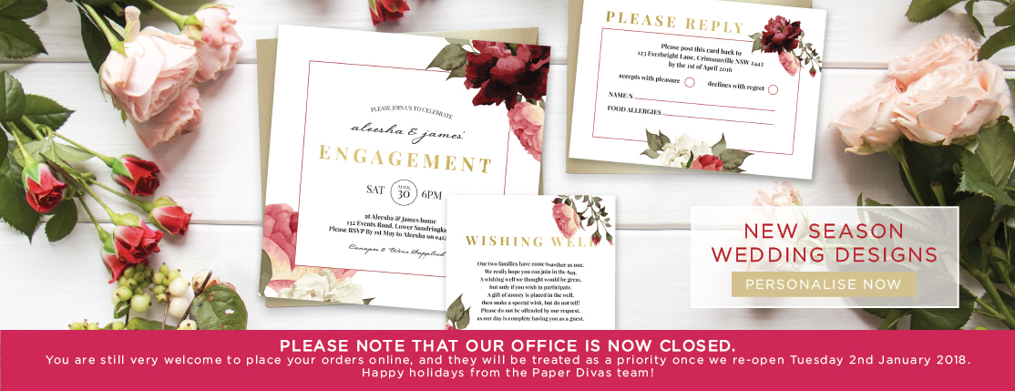 Wedding Diva Invitations: Invitations Online Australia From Paper Divas