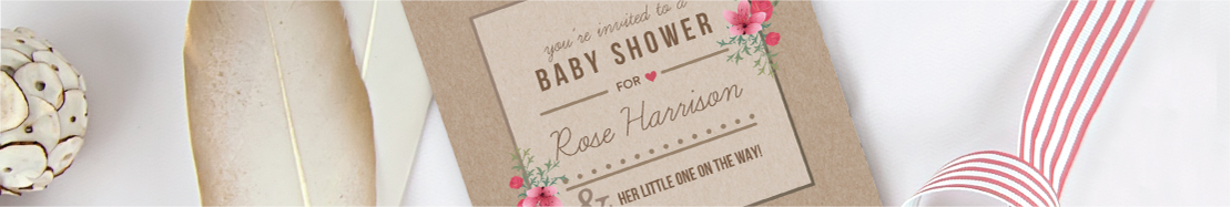 Baby Shower Stationery