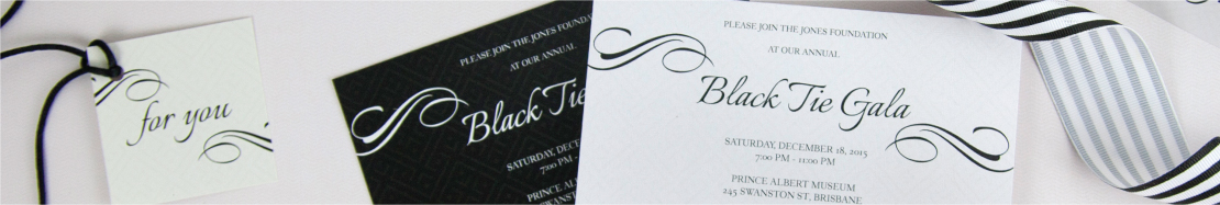 Corporate Invitations