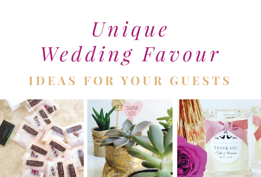 Paperdivas Blog Unique Wedding Favour Ideas For Your Guests
