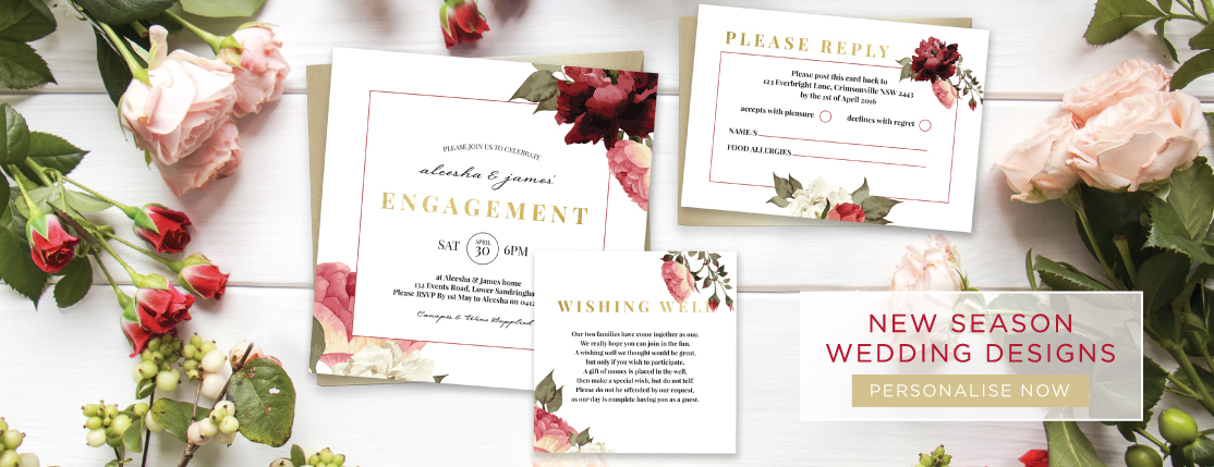 Invitations Online Australia From Paper Divas